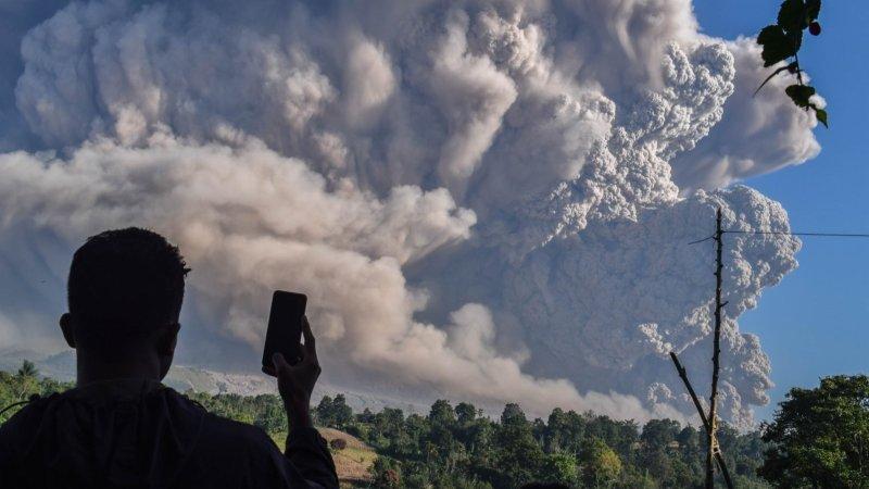 火山灰來襲