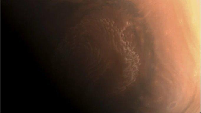 天問一號拍了三張火星高清照