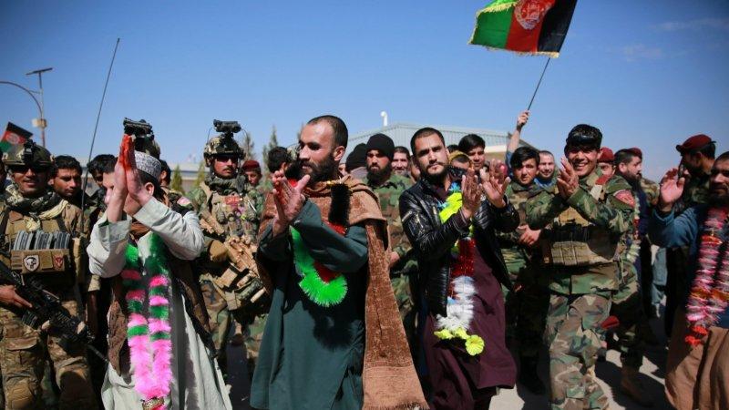 阿富汗軍方搗毀塔利班「監獄」並解救34人