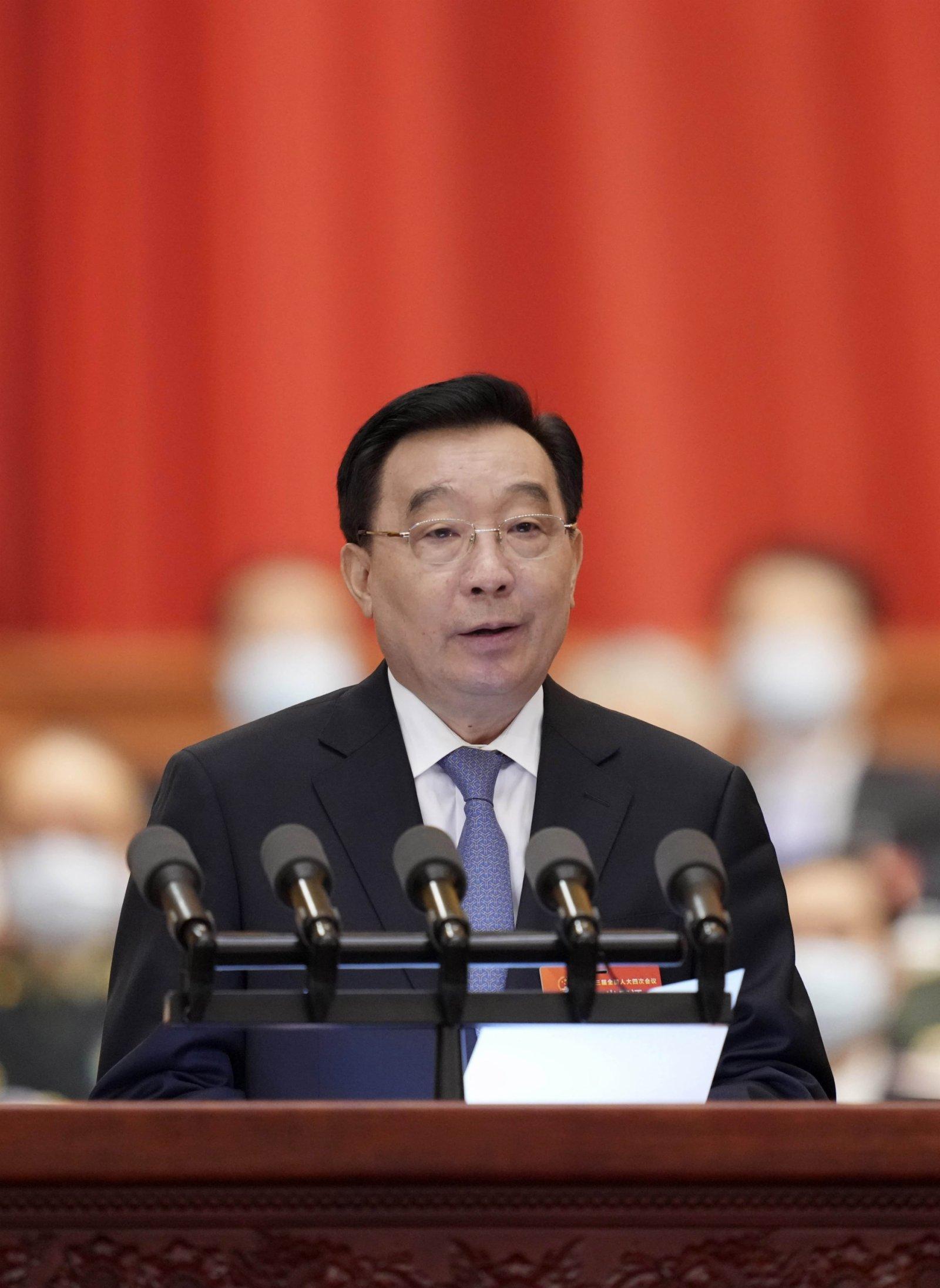 全國兩會|王晨:只修改基本法附件 完善香港選舉制度