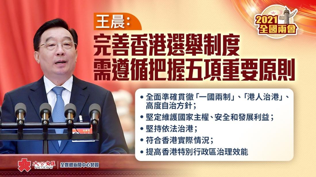 完善香港選舉制度 中央一錘定音