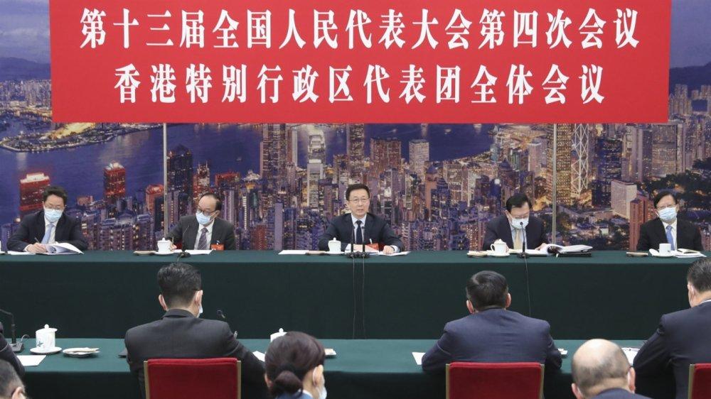 韓正:完善選舉制度是保衛戰 中央全面貫徹落實「愛國者治港」