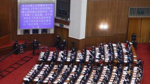 十三屆全國人大四次會議8日舉行第二次全體會議
