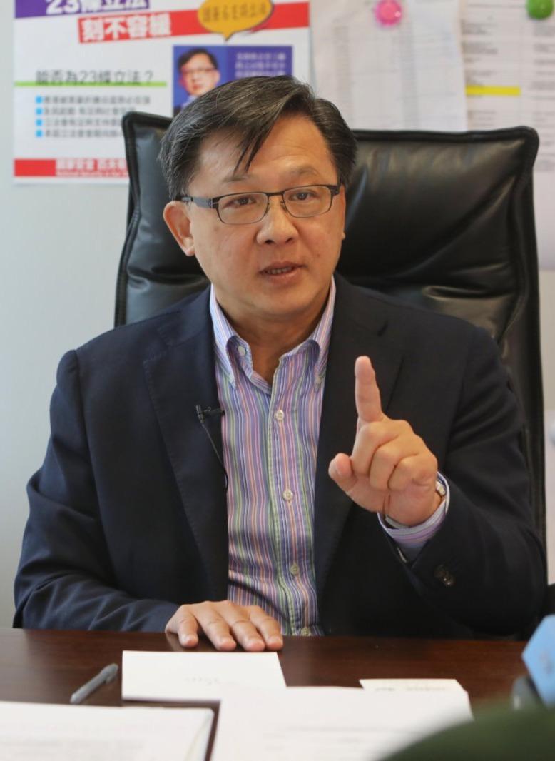 何君堯:完善選舉制度重塑立會新格局 議員任重道遠