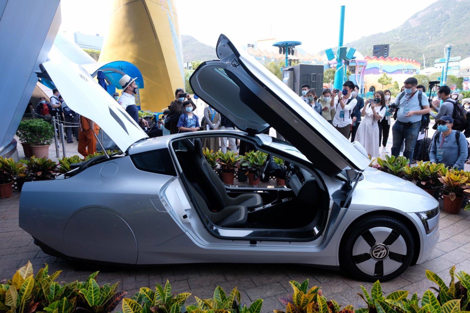 20多架經典老爺車將於海濱樂園不同區域展出。