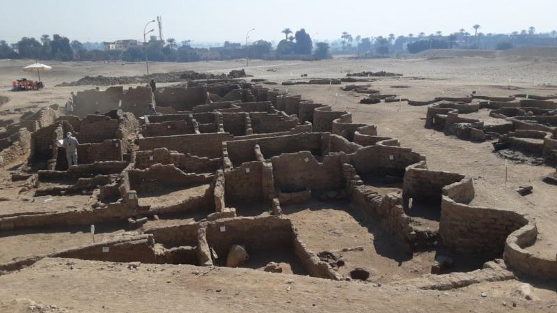 埃及盧克索發現距今3000多年古埃及重要都城遺址