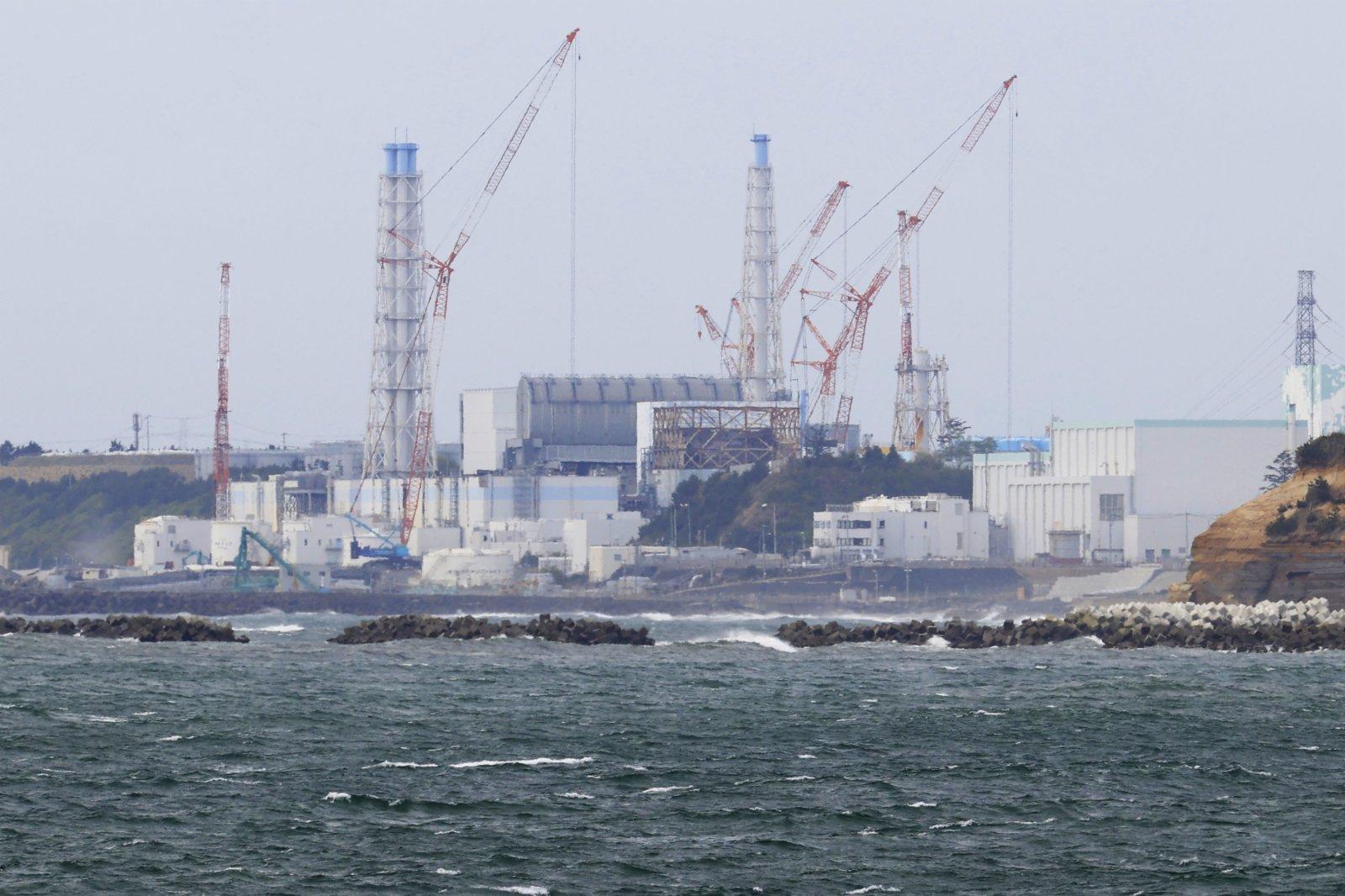 日本福島第一核電站(新華社)