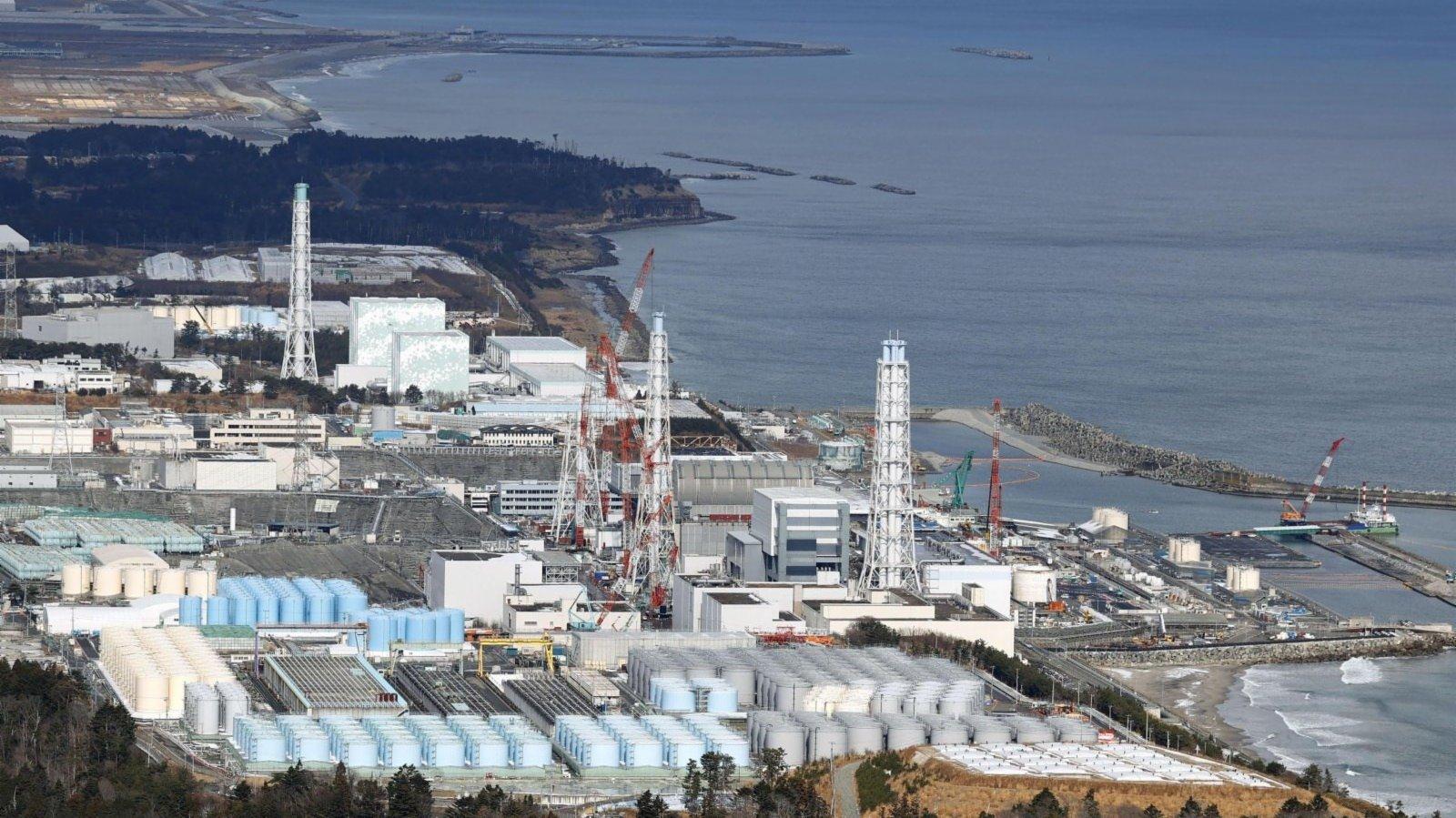 日本民眾抗議福島核污水排入大海