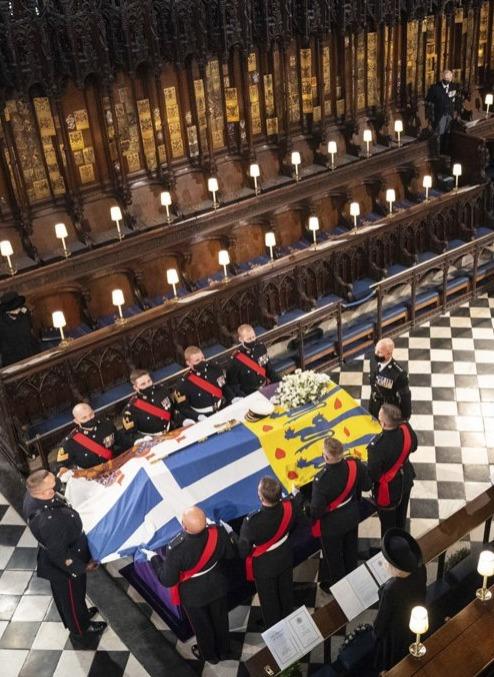 菲臘親王舉殯 全英哀悼