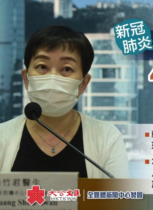 香港新增8宗確診 4宗本地感染另1宗待分類