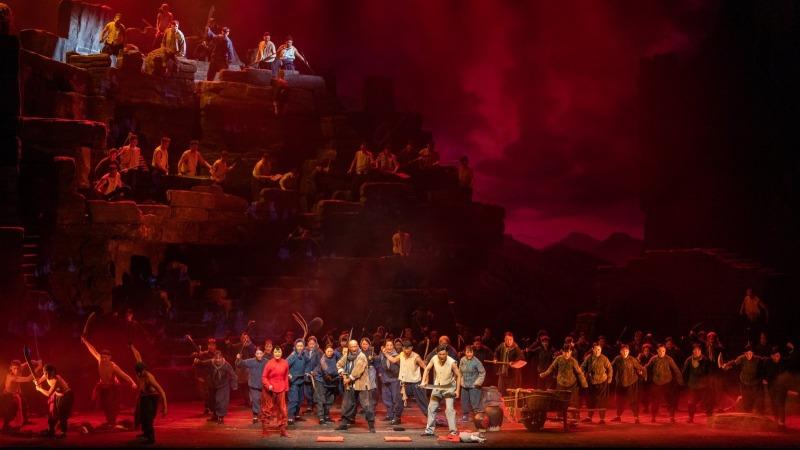 慶祝中國共產黨成立100周年優秀舞台藝術作品展演開幕