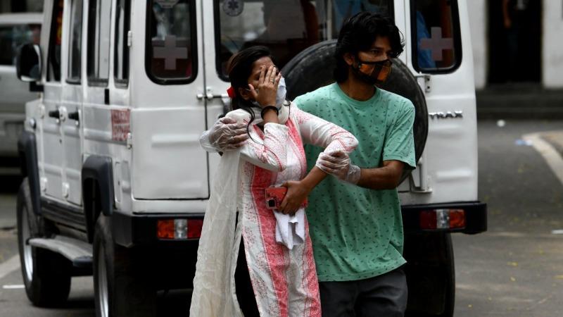印度新增新冠確診病例259170例