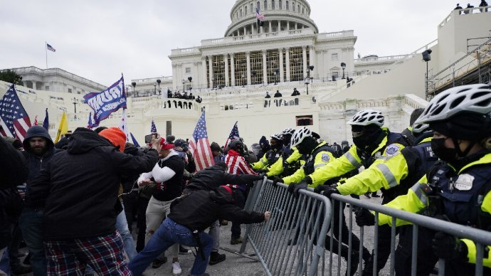 涉參與國會暴亂 首名現役美軍被起訴