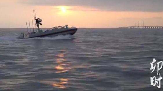 無人艇獨家視角:大灣區十二時辰