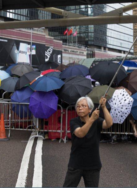 警方以涉嫌明知而參與未經批准集結拘捕王鳳瑤