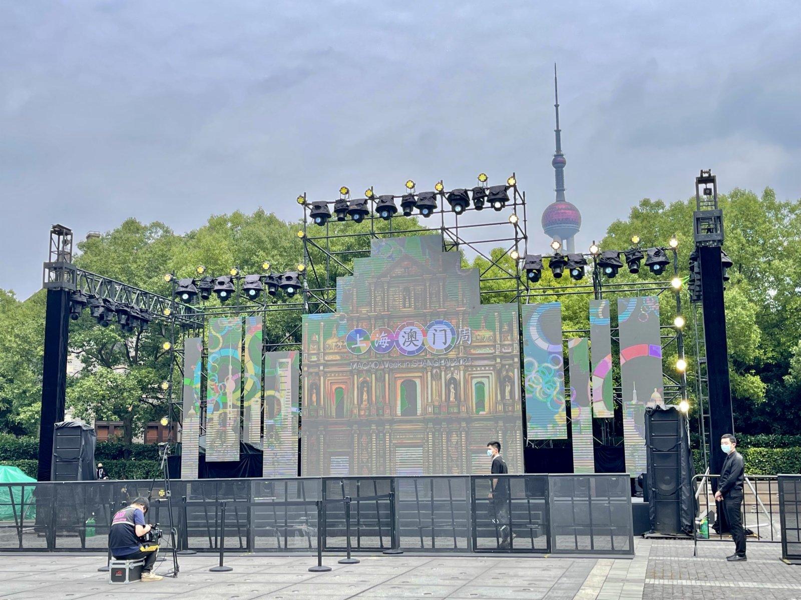 主舞台還將不定期進行特色演出。記者夏微攝