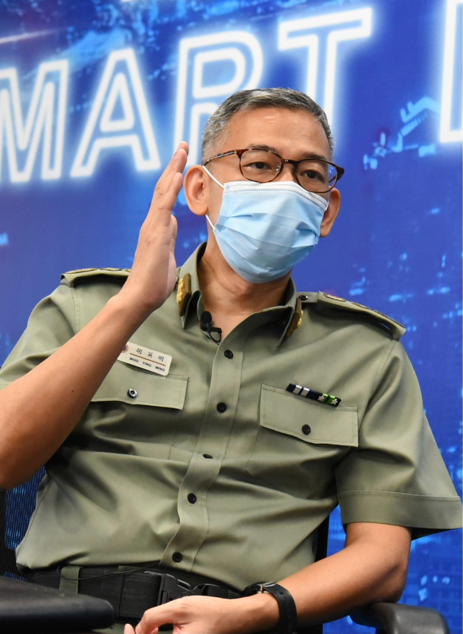 胡英明:有人抹黑香港懲教署的計謀不會得逞