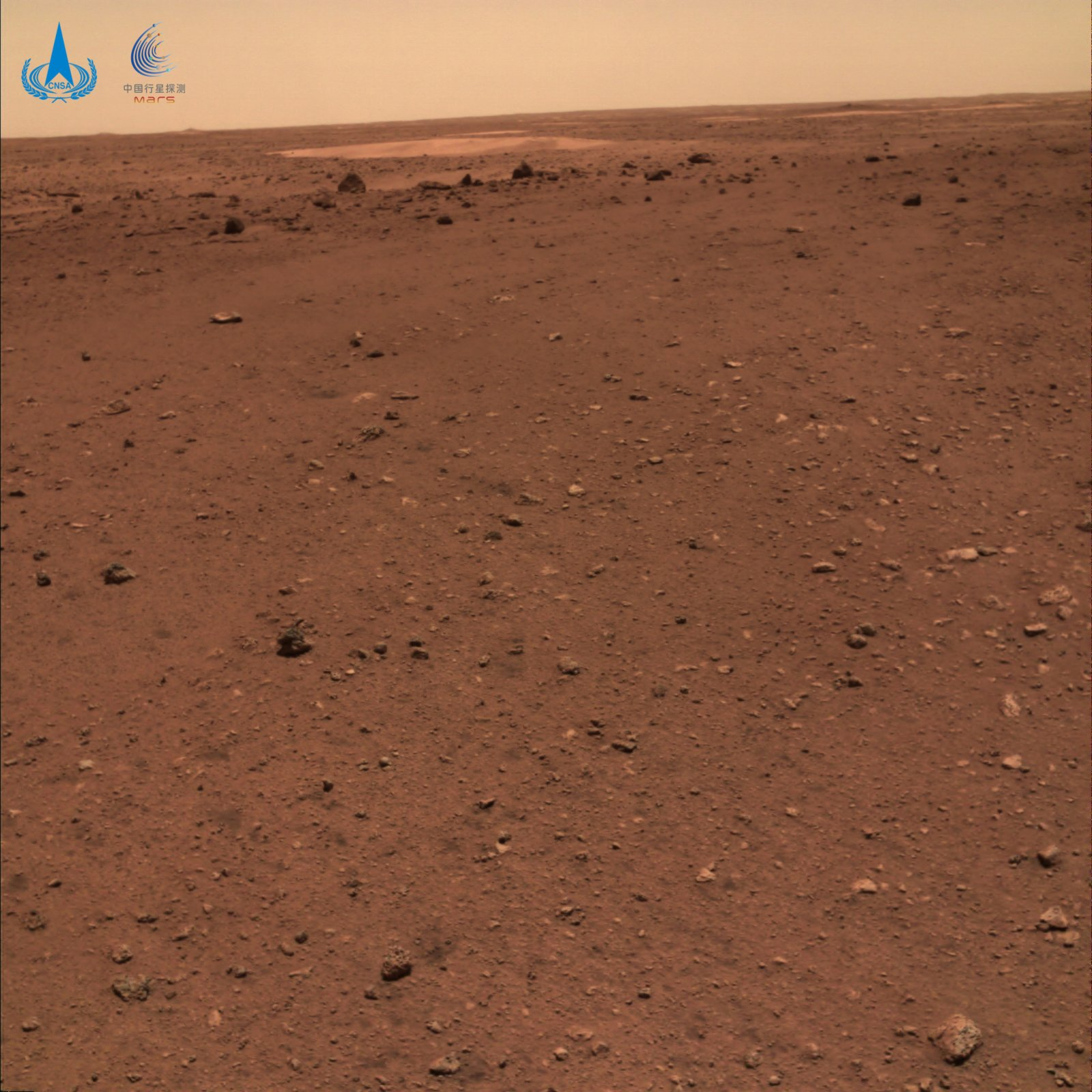 火星地形地貌圖。