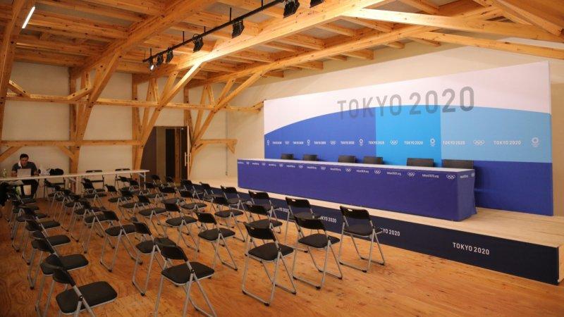 東京奧運會奧運村對媒體開放