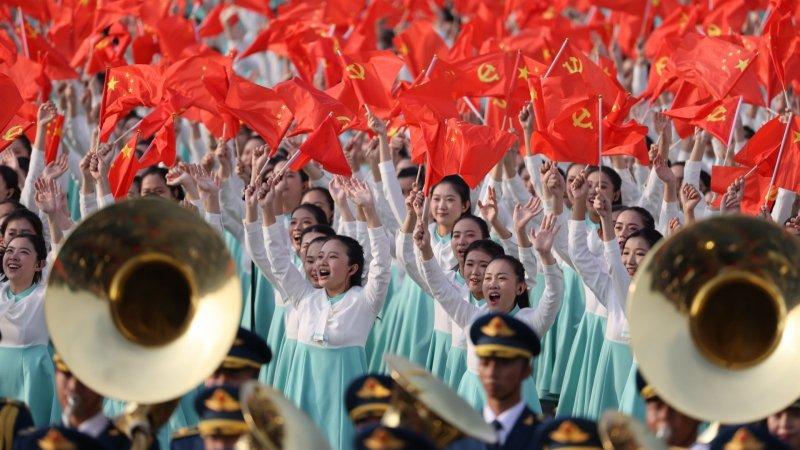 回放   慶祝中國共產黨成立100周年大會 習近平發表重要講話