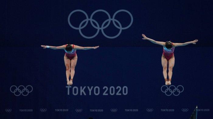 第四金!施廷懋王涵跳水雙人三米板奪冠