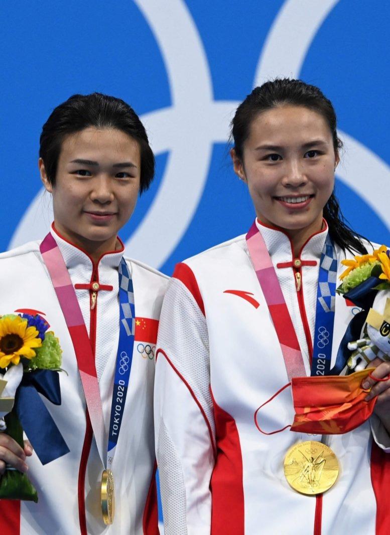 第四金!施廷懋王涵跳水女子雙人三米板奪冠