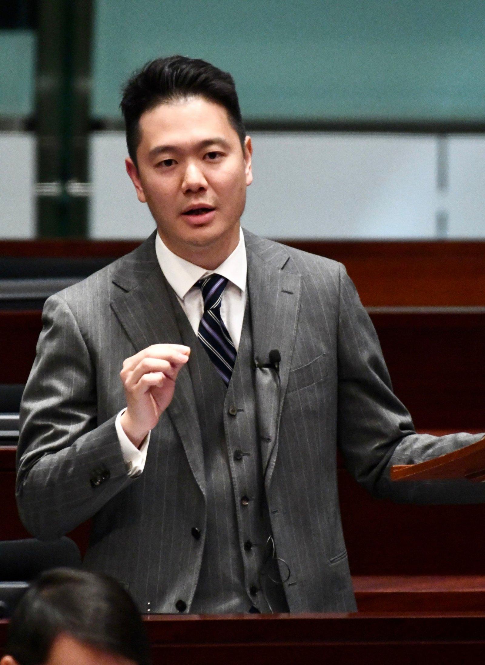 周浩鼎倡傳統工業智能化 法官需學習國家憲法