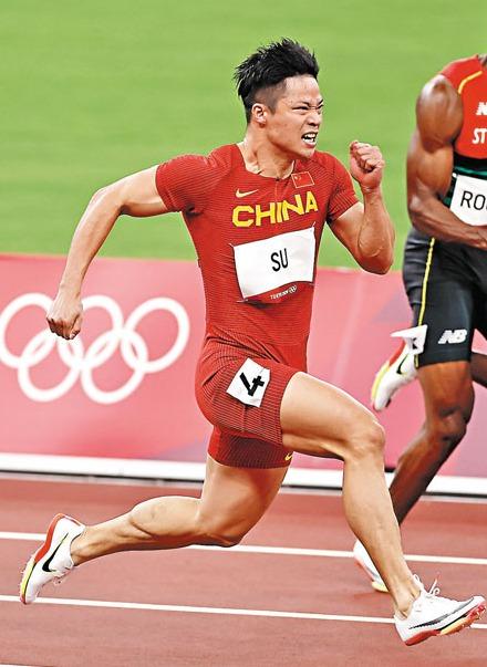 創紀錄!男子100米蘇炳添第6名