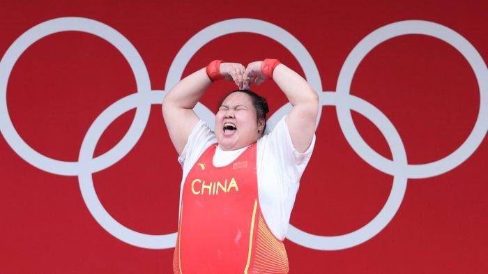 在東京奧運「比心」