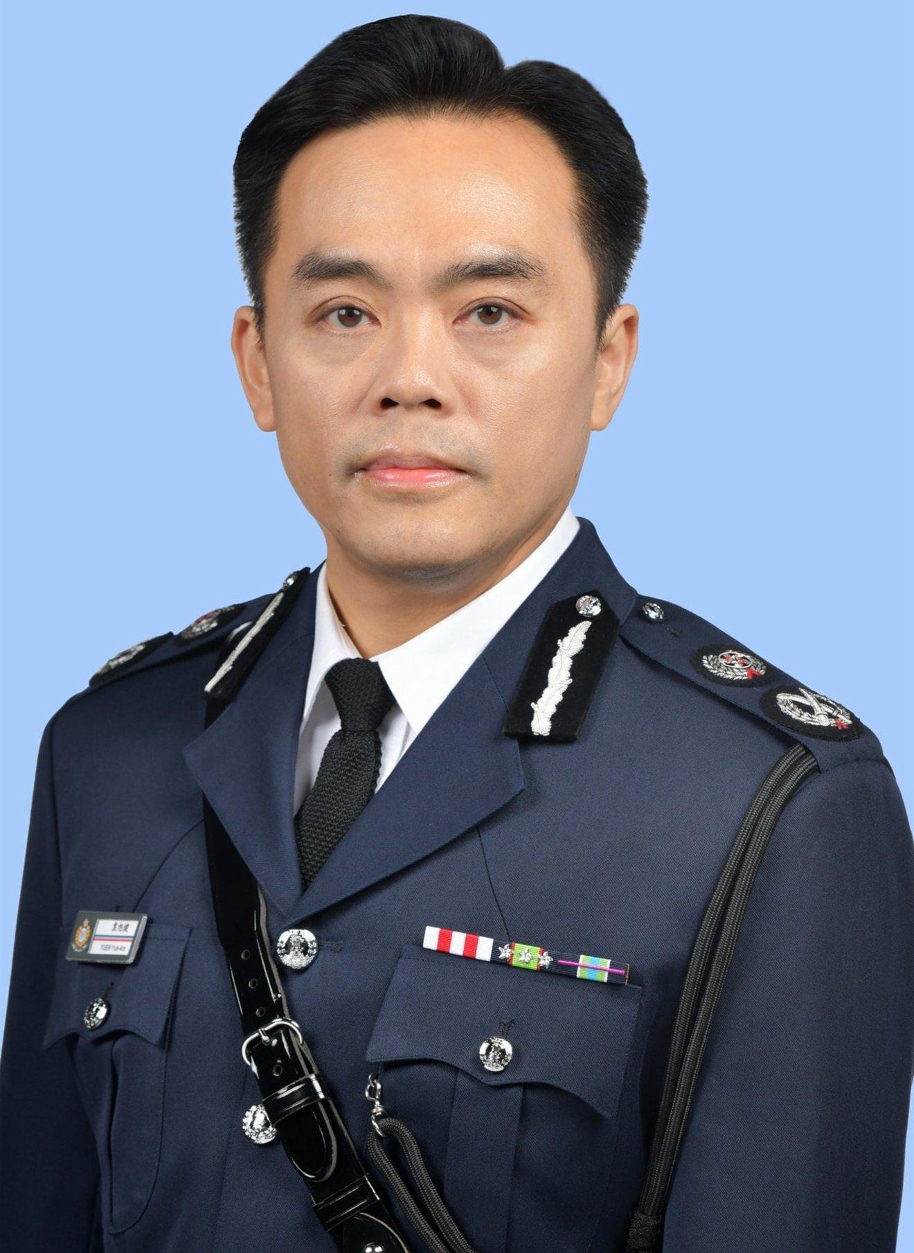 警務處高級助理處長袁旭健升任副處長