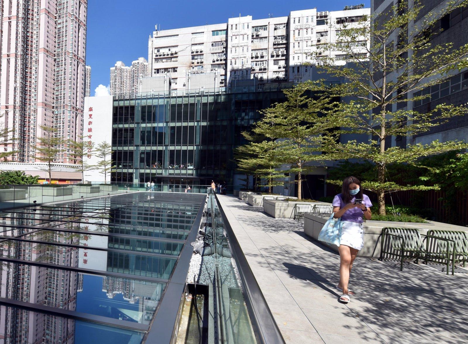 9月4日,市民遊覽香港南豐紗廠。(新華社)