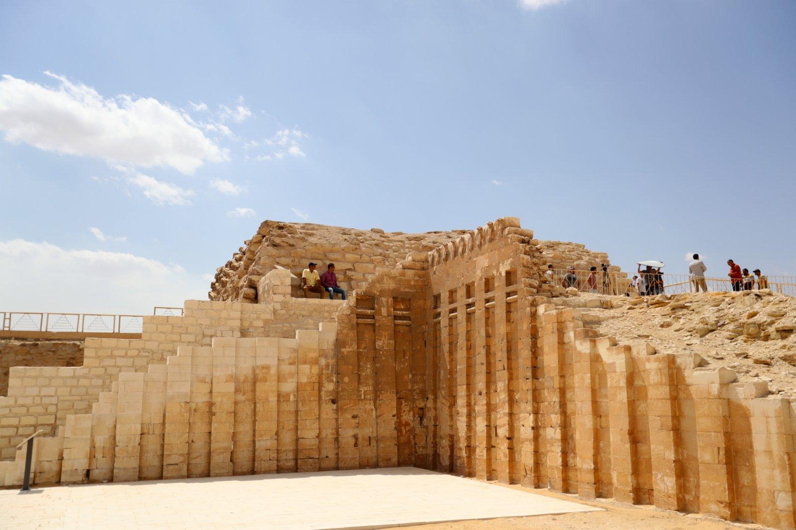一座左塞爾時期古墓的地上建築。