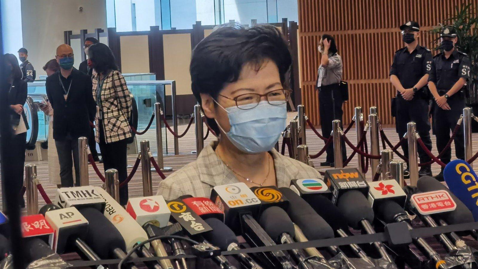 林鄭月娥:今次選舉將為香港帶來新的局面