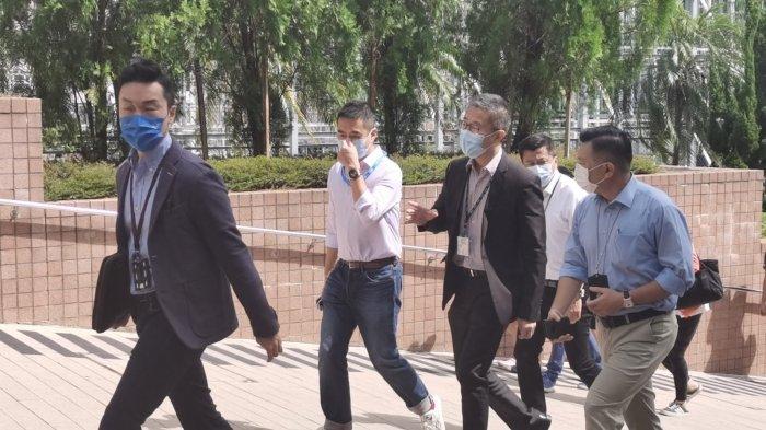 選委會選舉 蕭澤頤到多個票站現場巡視