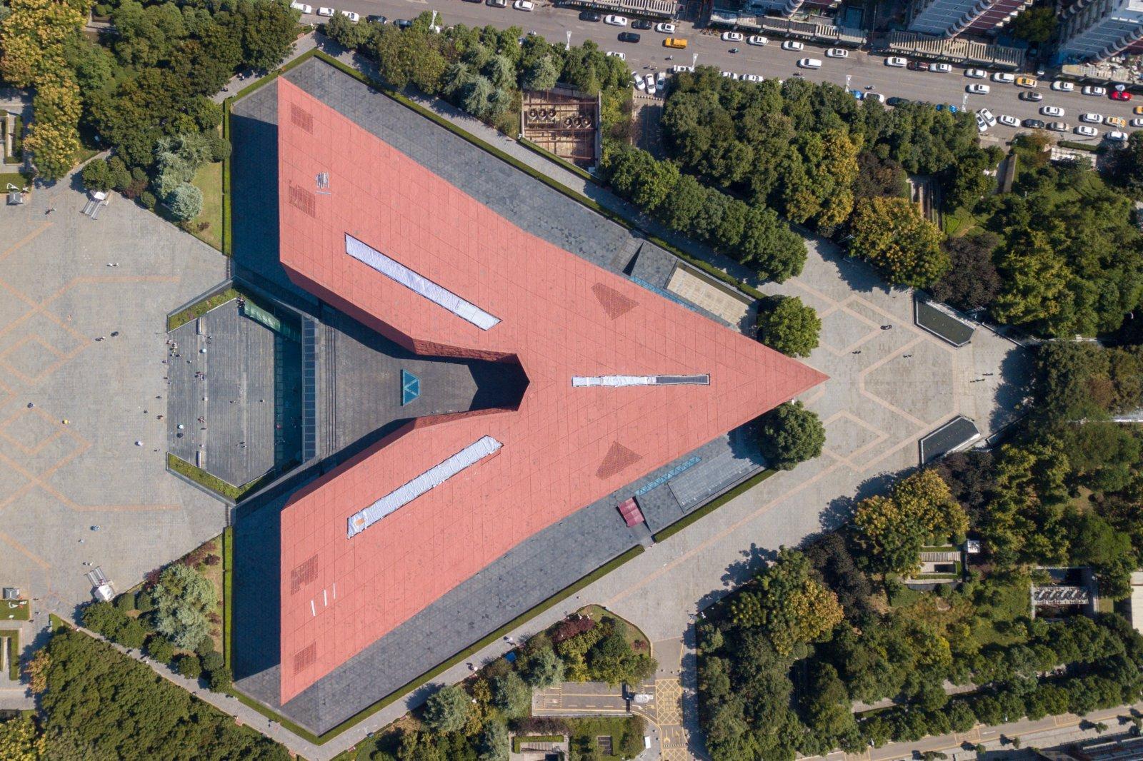 位於湖北省武漢市武昌區的辛亥革命博物館。(新華社)