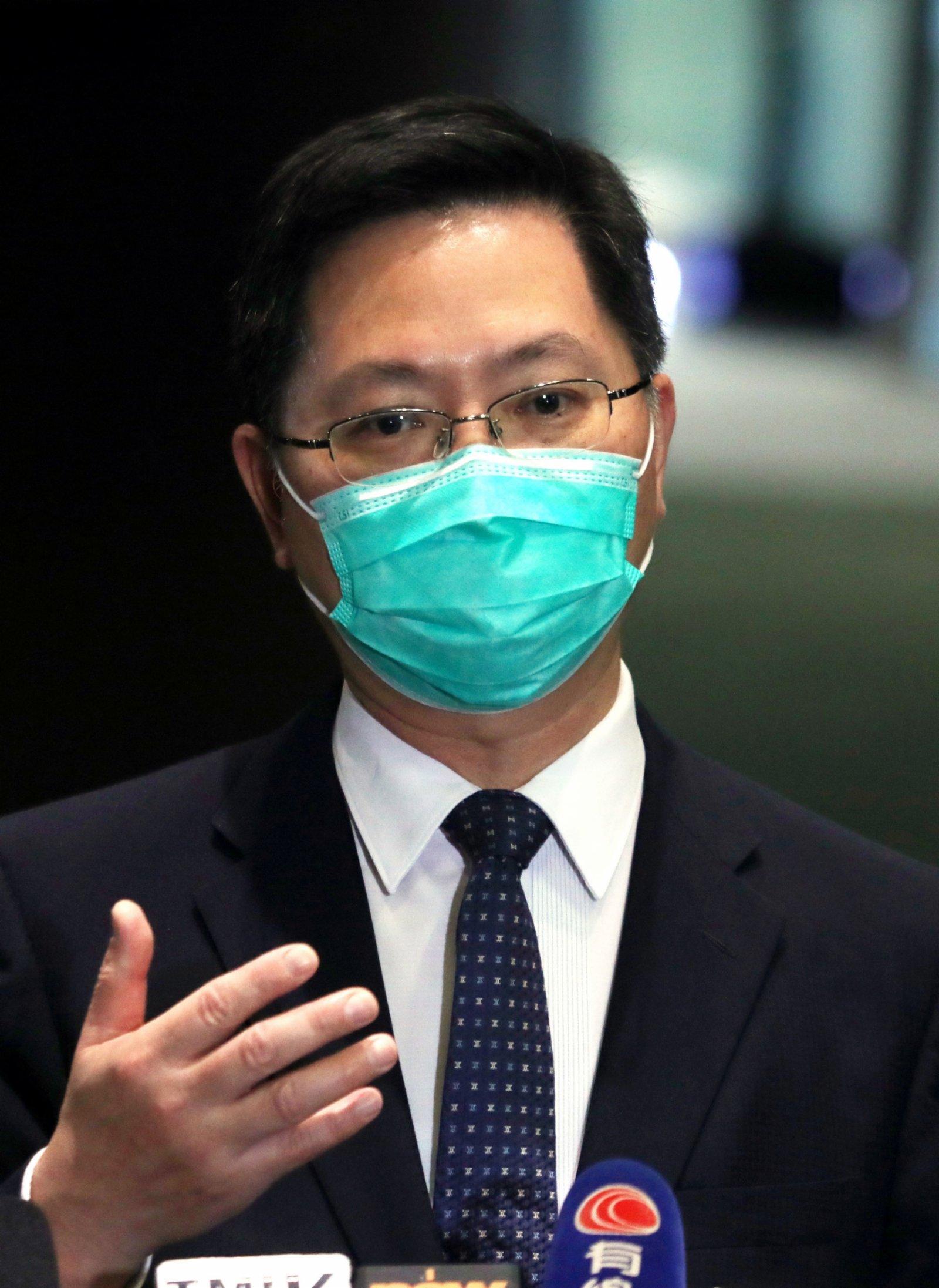 薛永恒稱會考慮直接使用內地健康碼