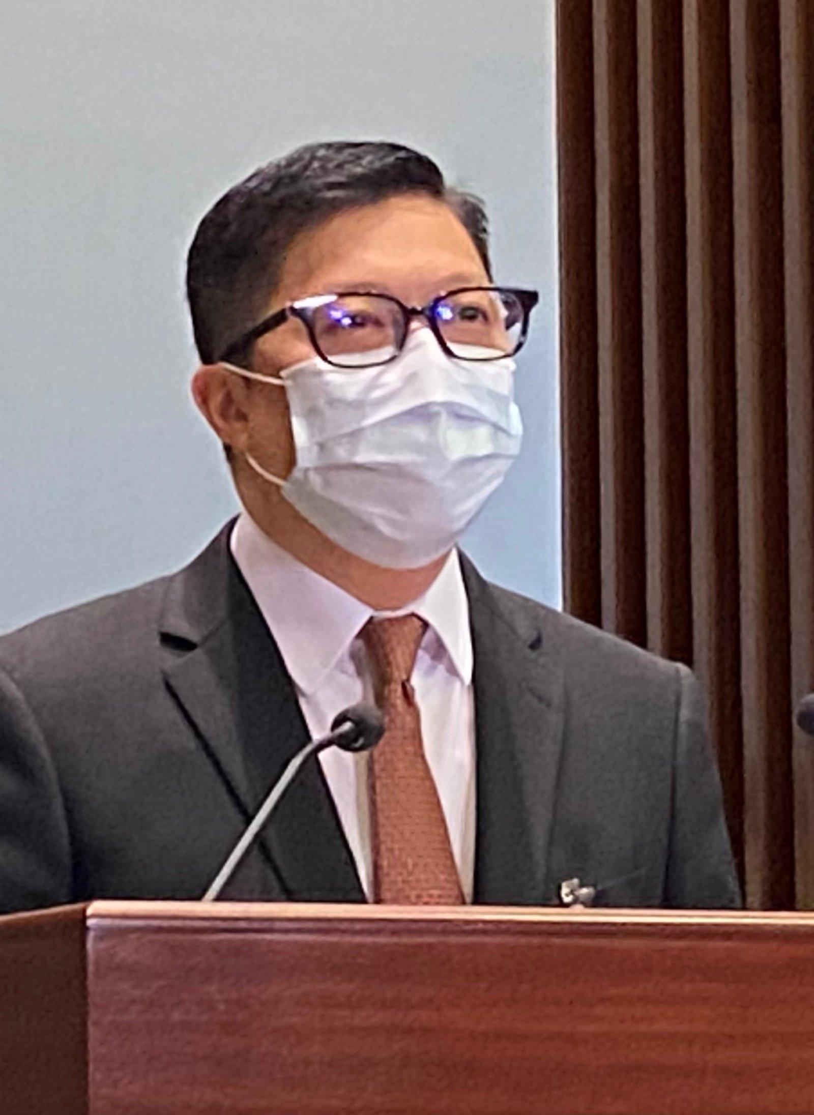 鄧炳強:台當局應摒棄政治操弄 准陳同佳赴台