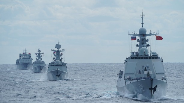 中俄首次海上聯合巡航圓滿結束