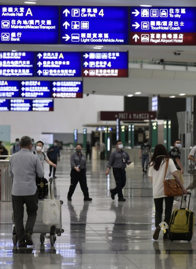 香港新增3宗輸入病例 當中2宗涉變異病毒
